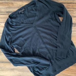 banana republic silk cashmere sweater - size s